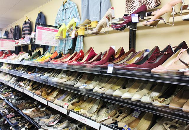 ワットマンスタイル雑色店店内靴売場