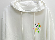 RAINBOW WHITE HOODY パーカー